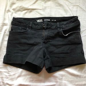 Vans Black Boyfriend Shorts